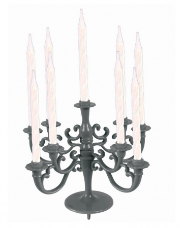 Silver Candle Holder For Cakes & Tarts