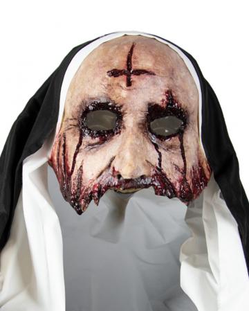 Silent Nun Horror Maske