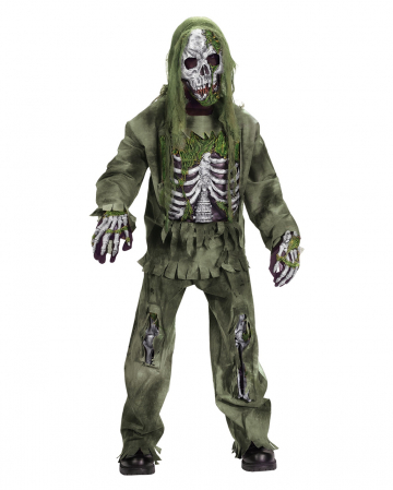 Skeleton Zombie Deluxe Child Costume