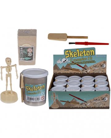 Skelett Ausgrabungs Set