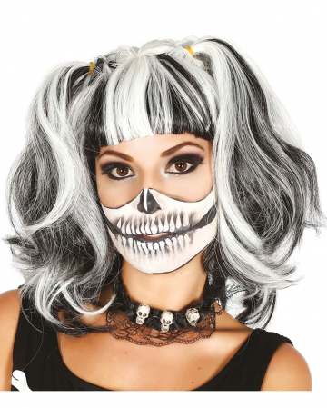 Skeleton Wig With Plaits