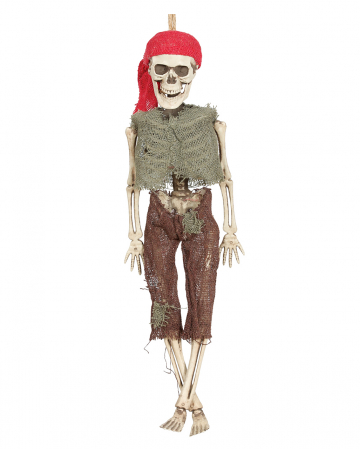 Skeleton Pirate Hanging Figure 40 Cm