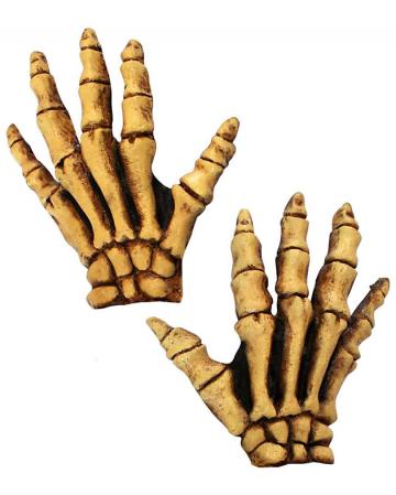 Skeleton Gloves Deluxe