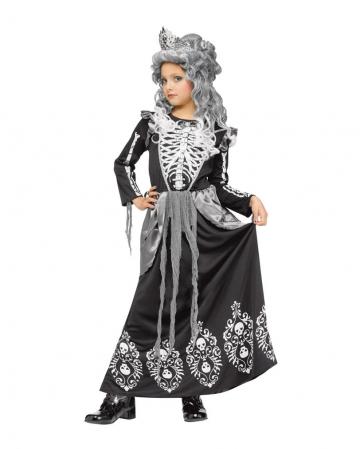 Skelett Königin Kinderkostüm