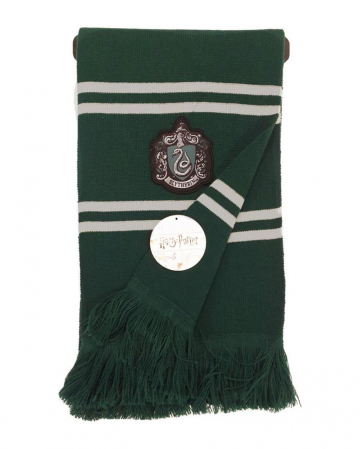 Slytherin Knitted Scarf Grey-Green - Harry Potter