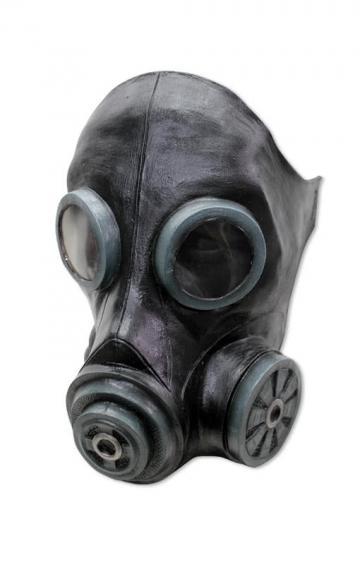 Flue gas mask black