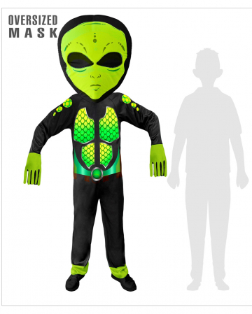 Space Alien Overall Child Costume