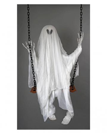 Spooky Geist auf der Schaukel