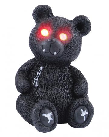 Spooky Teddy mit roten LED Augen