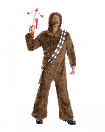 Chewbacca Fell Kostüm für Erwachsene
