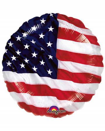 Stars & Stripes Foil Balloon