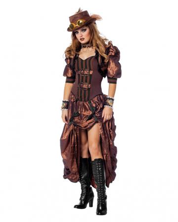 Steampunk Ladies Costume Deluxe