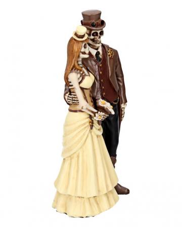 Steampunk Skeleton Wedding Couple
