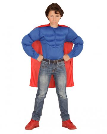 Super Muskel Held Shirt für Kinder