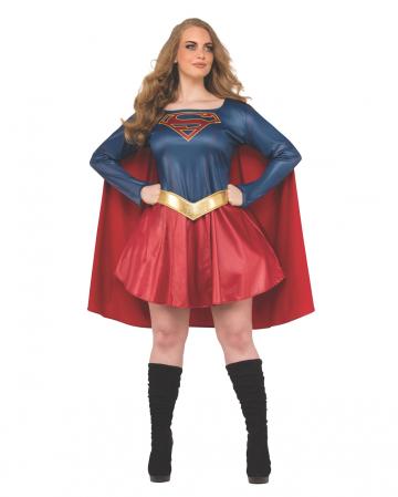 Supergirl Ladies Costume Plus Size