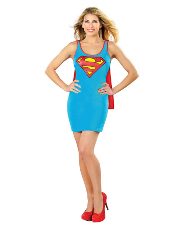 Supergirl Tank Mini Dress