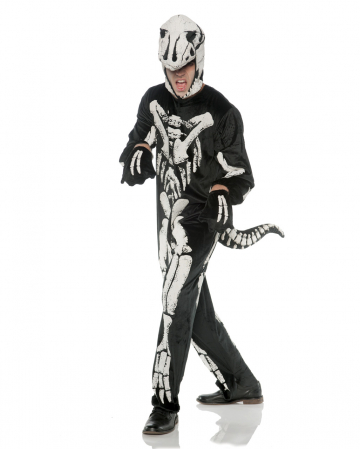 T-Rex Skeleton Costume For Adults