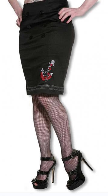 Waist skirt in 50s style