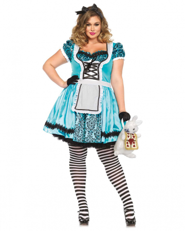 Tea Party Alice Kostüm Plus Size