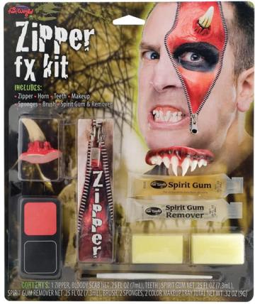 Devil Zipper FX Kit
