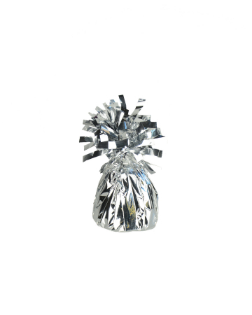 Table Decoration & Balloon Weight Silver