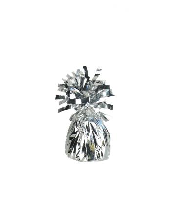 Tischdeko & Ballongewicht Silber