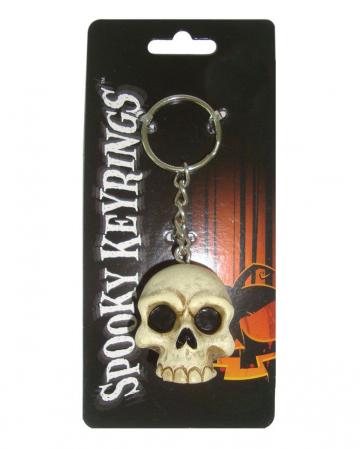 Totenkopf Schlüsselanhänger 4cm
