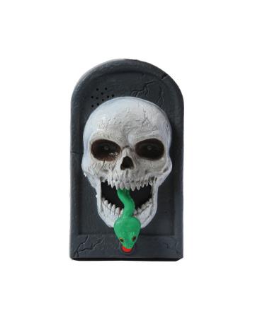Skull Doorbell With Light, Sound & Movement