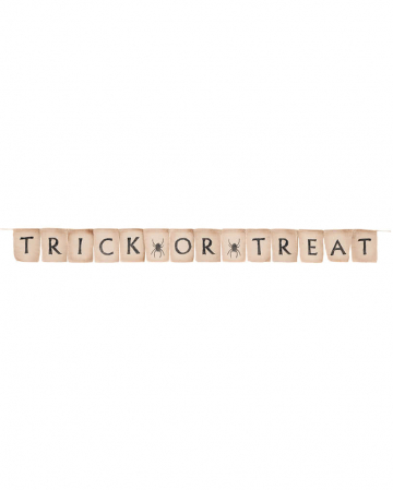 """Hipster Halloween Banner Trick or Treat"""""""