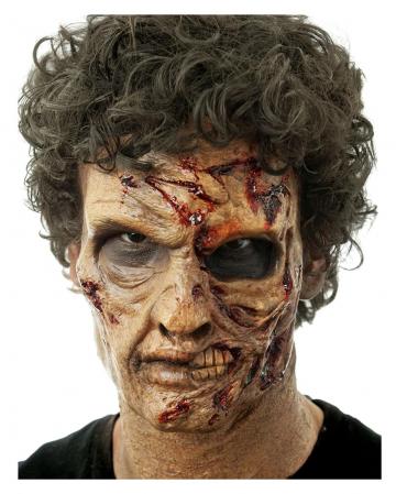 Two-Face Zombie Schaumlatex Maske
