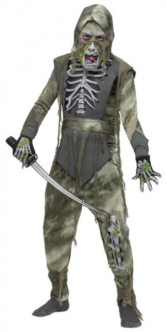 Zombie Ninja Kinderkostüm