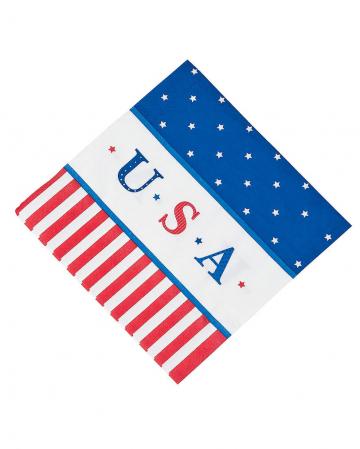 USA Papier Servietten 16 St.