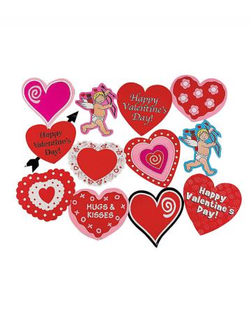 Valentine's Day Deco 12-pcs.