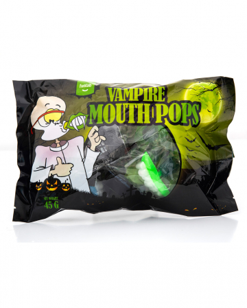 Vampire Dentures Lollipop 9 Pcs.