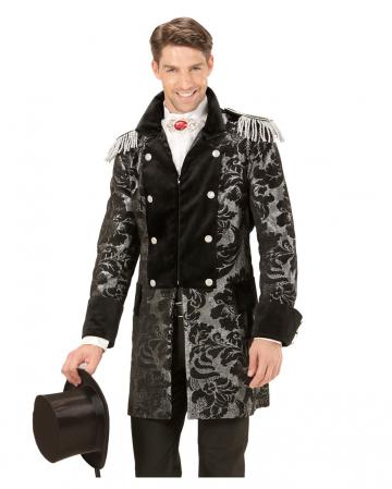 Venetian tuxedo black-silver