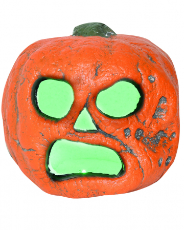 Creepy Halloween Kürbis mit LED 20cm