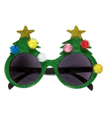 Weihnachtsbaum Brille