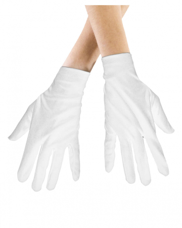 Gloves White For Children