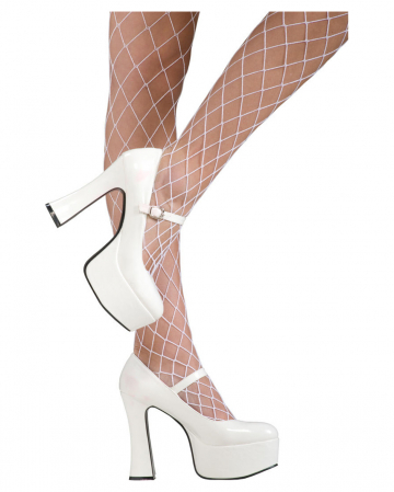 Mary Janes Pumps White