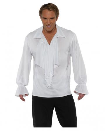 Vampir Hemd mit Rüschen