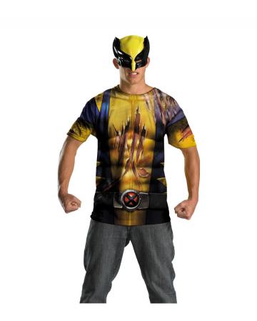 Wolverine Shirt mit Maske Teenager