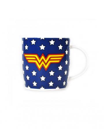 Wonder Woman star blue cup
