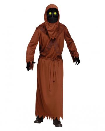 Wüsten Dämon Kostüm mit Leuchtaugen