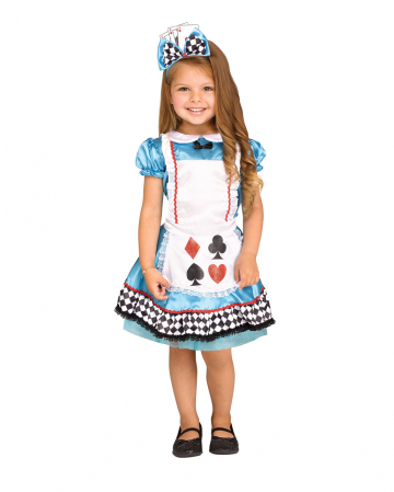 Wunderland Card Costume For Children