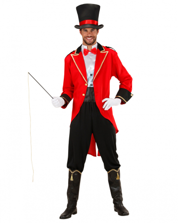 Circus Director Costume With Cylinder