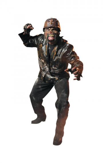 Zombie Biker costume