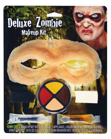 Zombie Stirn Halloween Make-up Kit