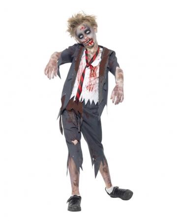 Zombie Schuljungen Kostüm