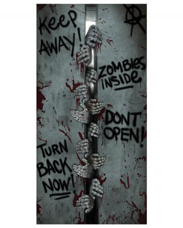 Zombie Türfolie