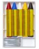 5 Bunte Make-up Stifte mit Spitzer